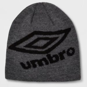 The Youth Knit Skully Hat from Umbro size OS